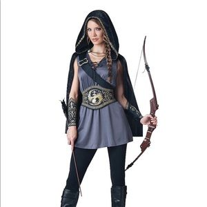 Sexy Huntress Halloween Costume Party Outfit Small